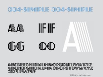 004-SIMPLE