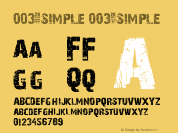 003-SIMPLE