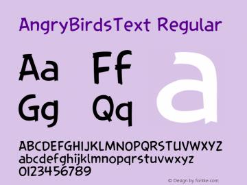 AngryBirdsText