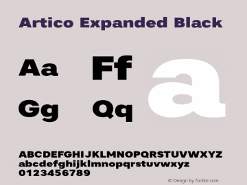 Artico Expanded