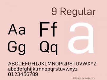 价格字体9