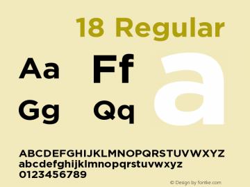 价格字体18