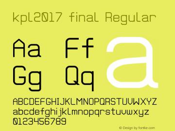 kpl2017 final