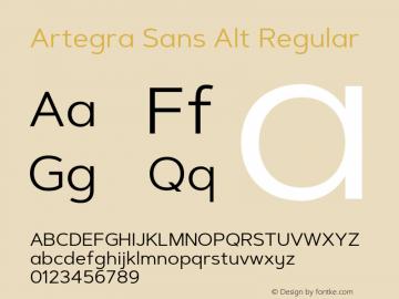 Artegra Sans Alt
