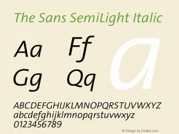 The Sans