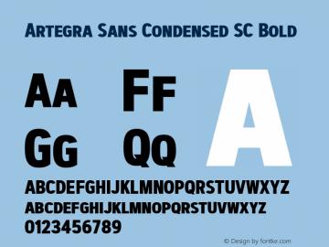 Artegra Sans Condensed SC