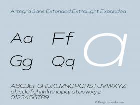 Artegra Sans Extended