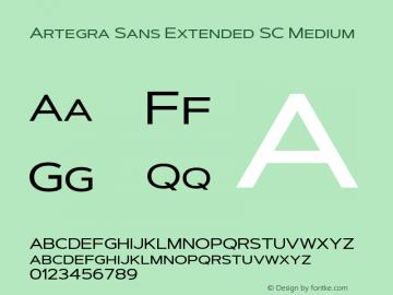 Artegra Sans Extended SC