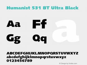 Humanist 531 BT