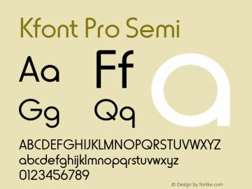 Kfont Pro