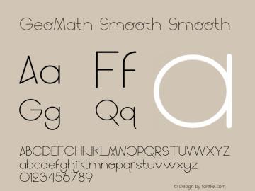 GeoMath Smooth
