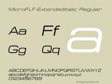 MicroFLF-ExtendedItalic