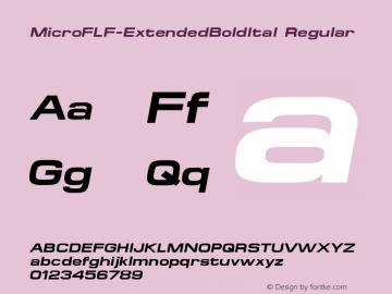 MicroFLF-ExtendedBoldItal