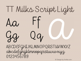 TT Milks Script