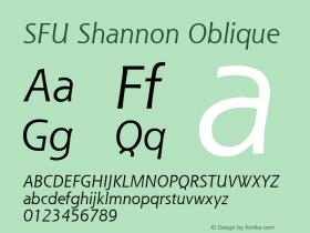 SFU Shannon