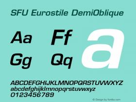 SFU Eurostile