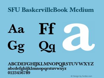SFU BaskervilleBook