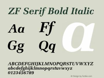 ZF Serif