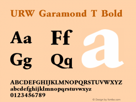 URW Garamond T