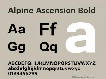 Alpine Ascension