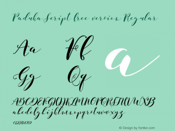 Paduka Script free version