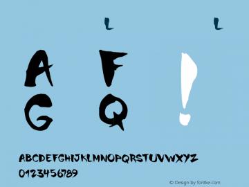 书法-英语字体L