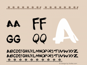 书法-英语字体F