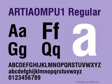 ARTIAOMPU1