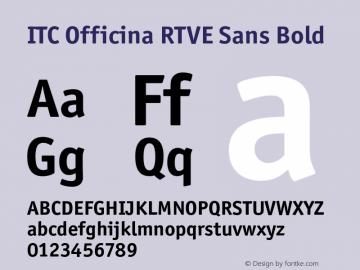 ITC Officina RTVE Sans