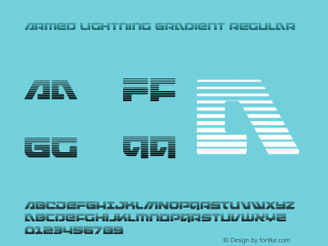 Armed Lightning Gradient