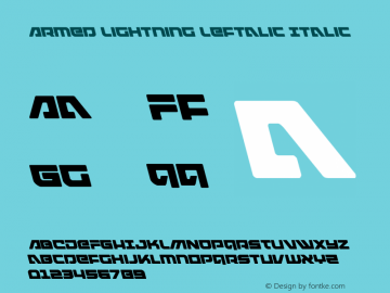 Armed Lightning Leftalic
