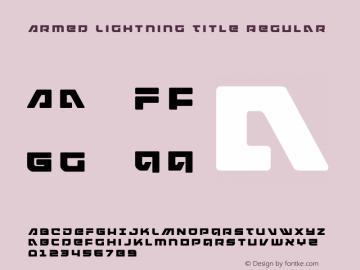 Armed Lightning Title