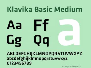 Klavika Basic
