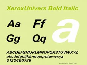 XeroxUnivers
