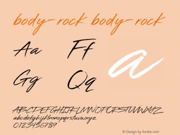 body-rock