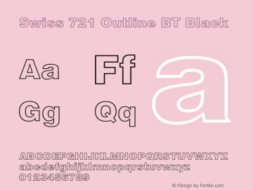Swiss 721 Outline BT