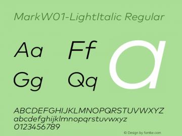 MarkW01-LightItalic