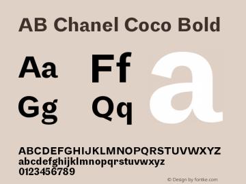 AB Chanel Coco