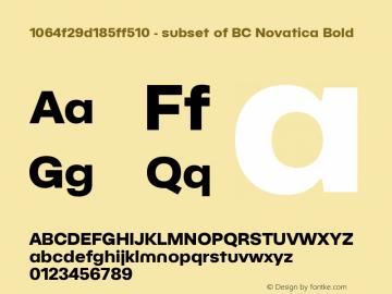 1064f29d185ff510 - subset of BC Novatica
