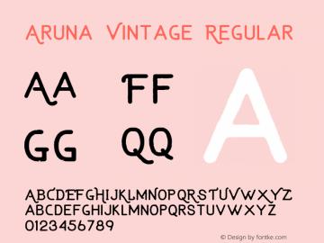 Aruna Vintage