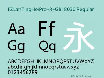 FZLanTingHeiPro-R-GB18030
