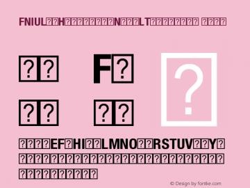 FNIULG+HelveticaNeueLTW1G-BdCn