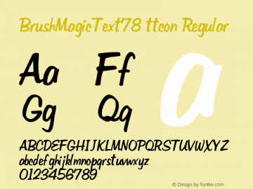 BrushMagicText78 ttcon
