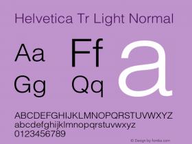 Helvetica Tr