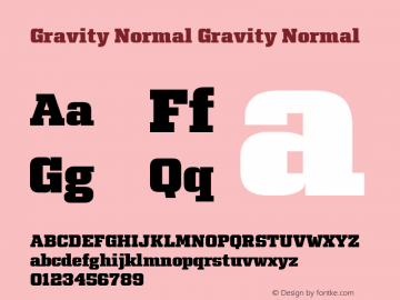 Gravity Normal