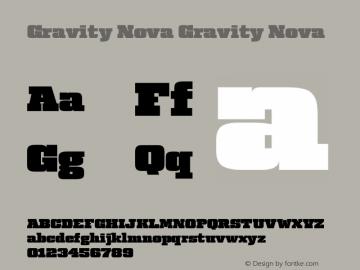 Gravity Nova