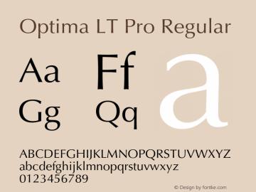 Optima LT Pro