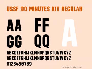 USSF 90 Minutes Kit