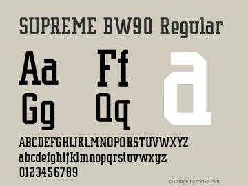 SUPREME BW90