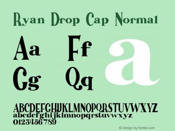 Ryan Drop Cap